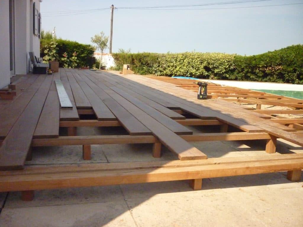 Les étapes à respecter lors de la construction d'une terrasse en bois